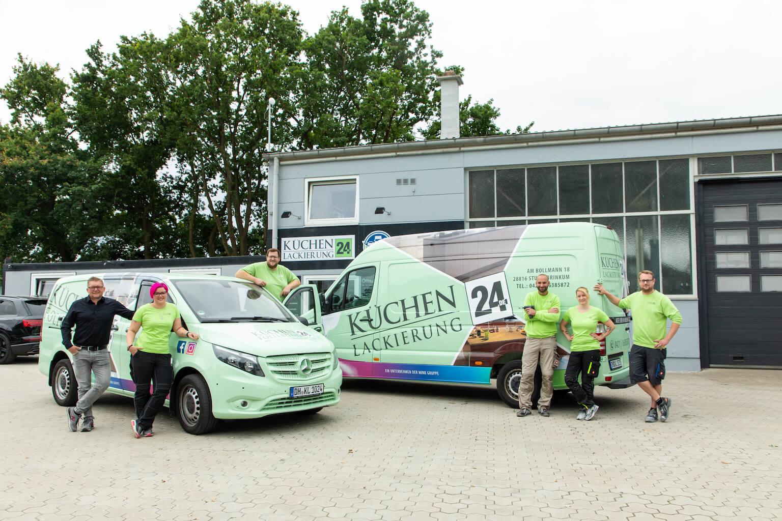 Küchenlackierung24 - Team